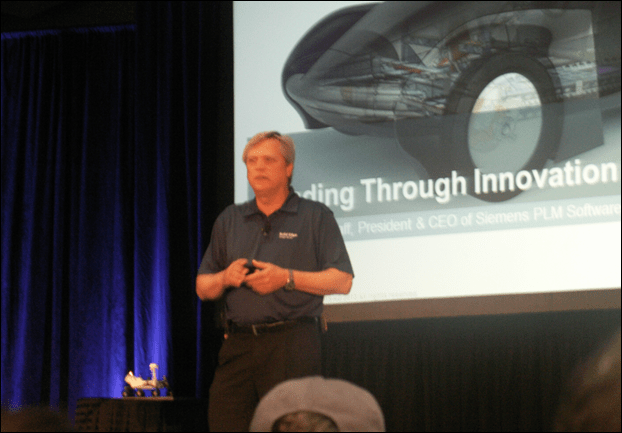 Chuck Grindstaff at Solid Edge University 2013