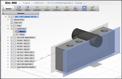 Autodesk Sim 360 Edit Design Work Plane