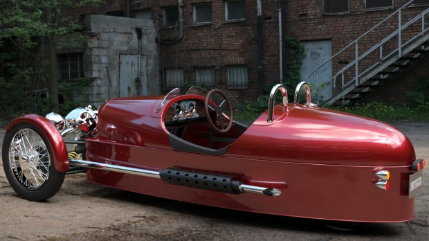 Autodesk 3ds Max Morgan 3 Wheeler Rendering