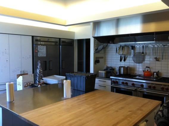 Kitchen at Autodesk Workshop at Pier 9