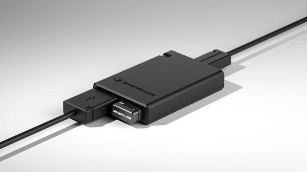 3Dconnexion USB-Hub Right-Iso_Receiver