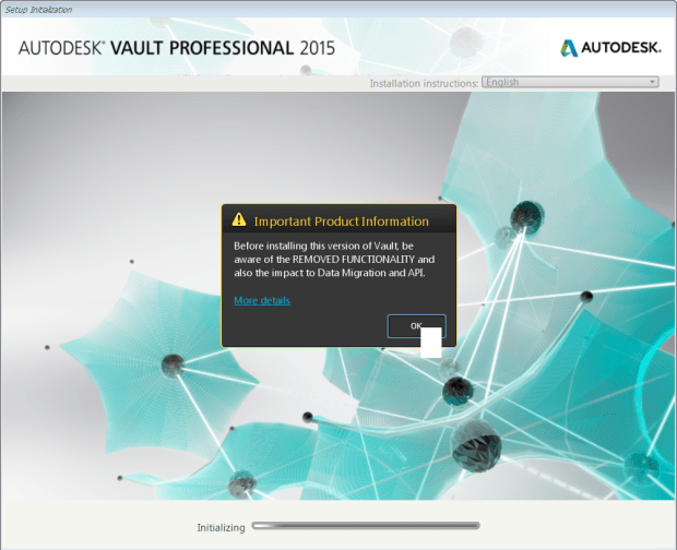 Vault 2015 R2 Important Product Information