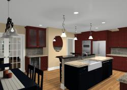 Small Of Kitchen Design With Islands