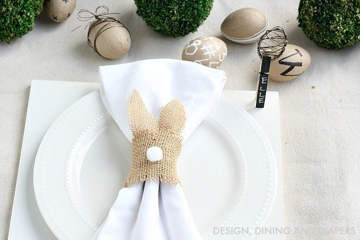 Neutral Easter Place Setting via @tarynatddd
