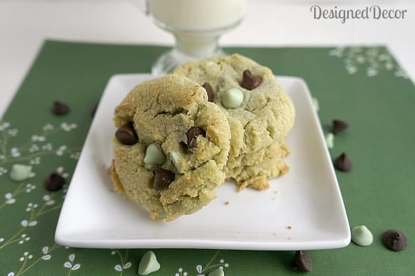 Mint Chocolate Chip Cookies 5