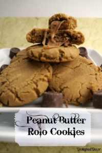 Peanut Butter Rolo Cookies 016