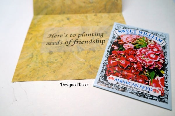 Making Easy Friendship CardsDesigned Decor