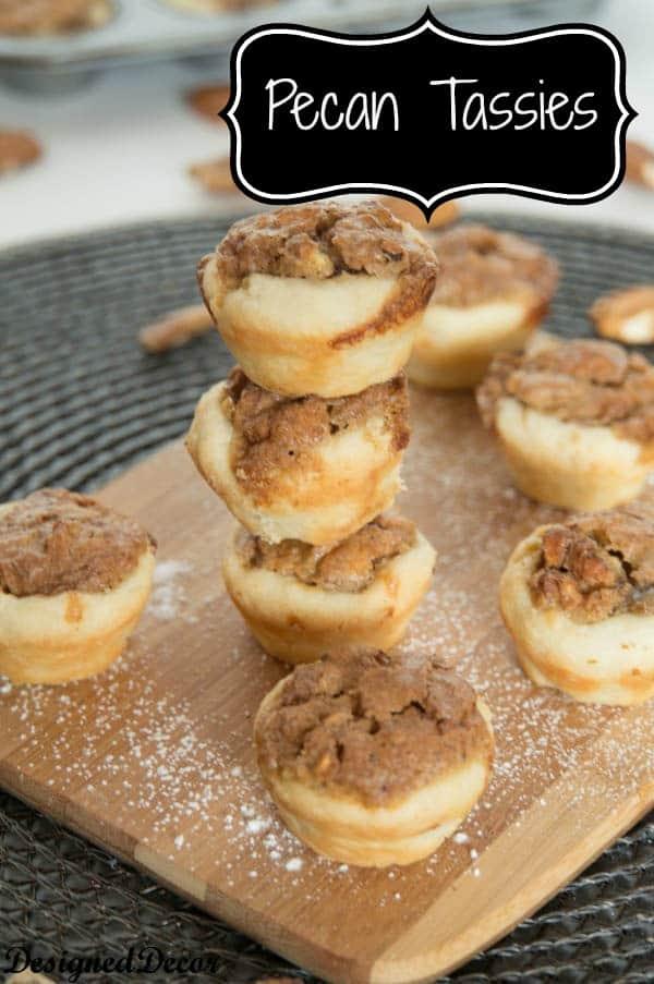 Pecan Tassies-Holiday Cookie Round-up