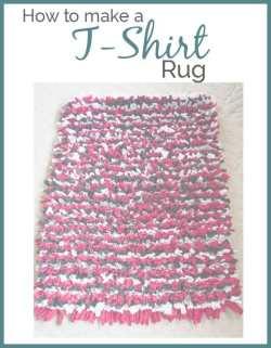 t-shirt rug