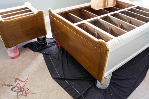 Guest Bedroom Furniture- French Decoupage~ Painting Furniture