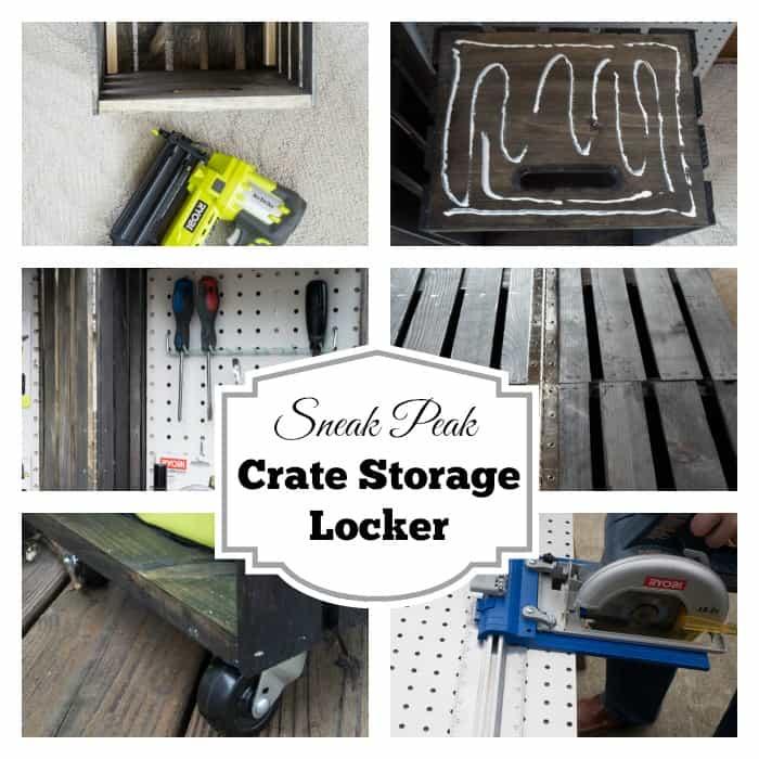 Sneak Peak Crate Storage Locker- Ryobi Nation