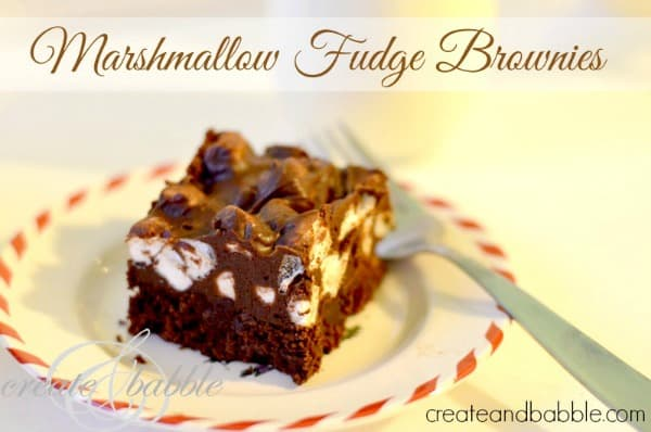 marshmallow-fudge-brownies-Holiday Cookie Round-up