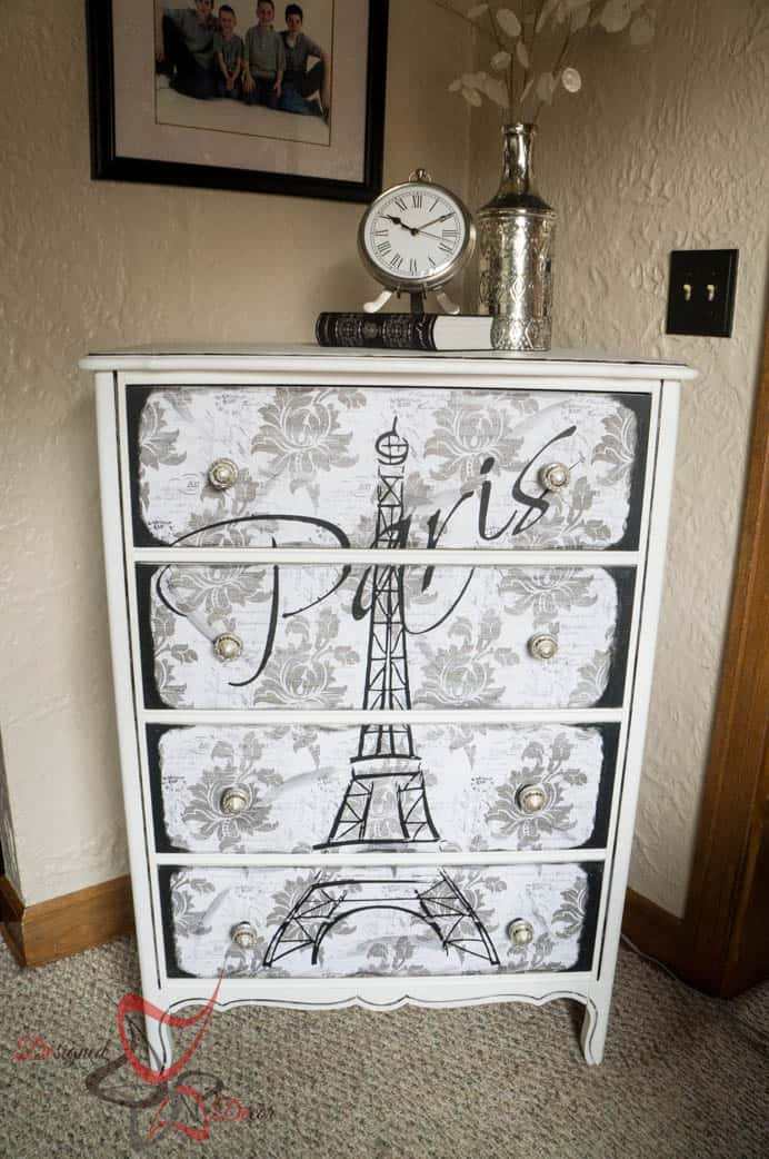 How to make large furniture stencils using vinyl and a - Paint stencils for furniture ...