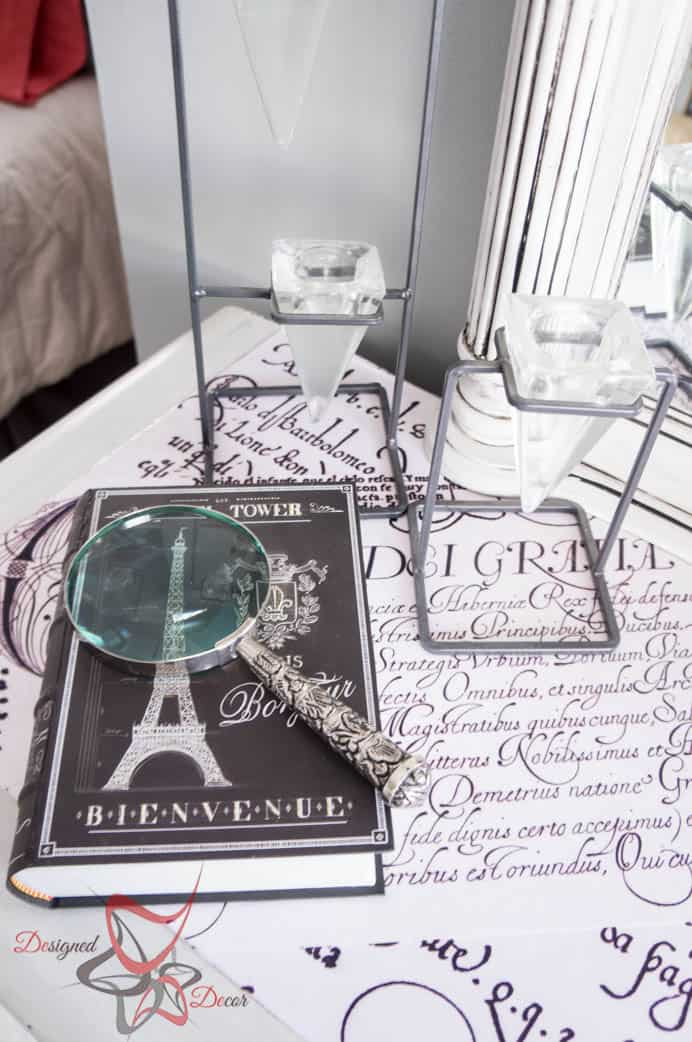 Guest Bedroom Makeover with a French Theme