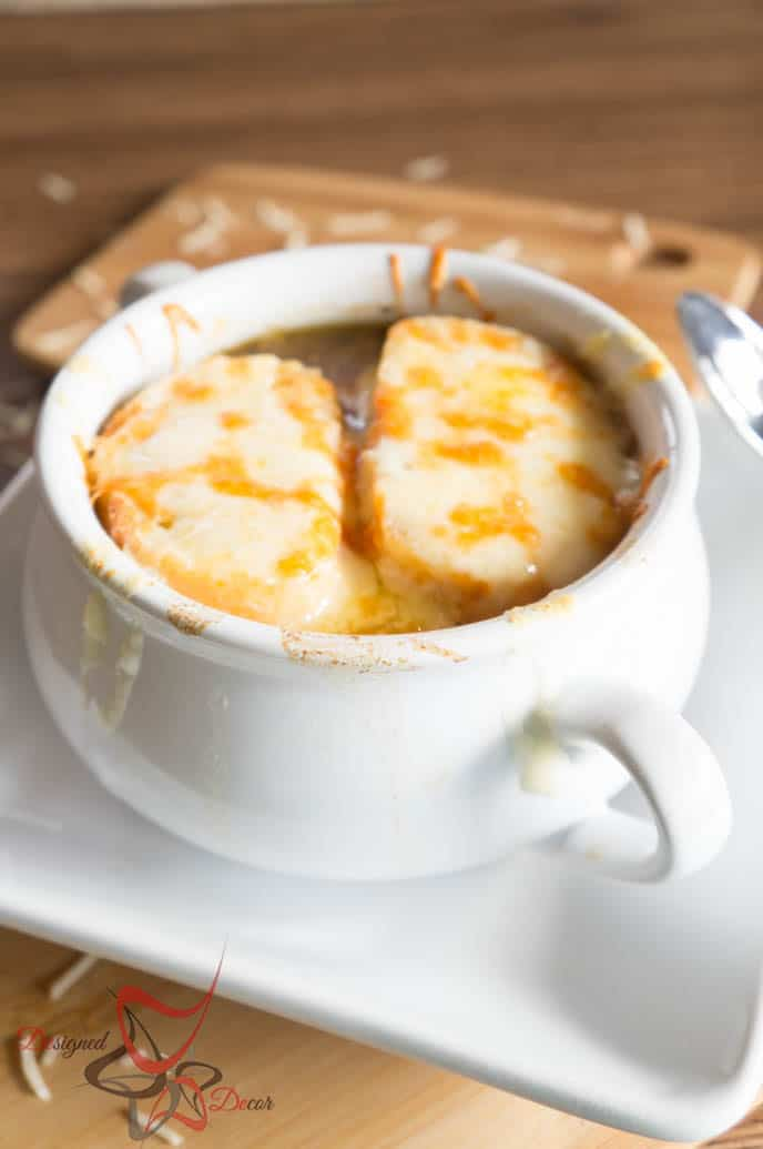 Recipe for a tasty French Onion Soup-