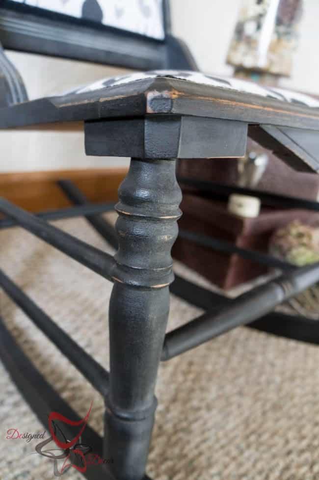Antique Rocking Chair-Maison Blanche- Le Dirt-111