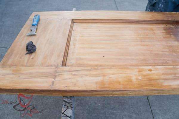 How to Refinish Wood Doors-4