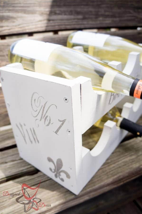 1 Power Tool Challenge- Garden Tool Box- Mason Jar Caddy-Wine Rack-40