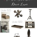 Industrial Decor Lover