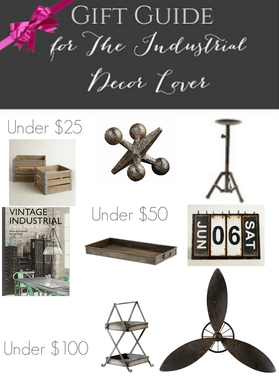The Complete Gift Guide – Industrial Decor Lover!