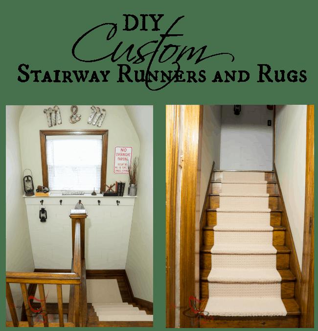 DIY Custom Stairway Runners and Rugs