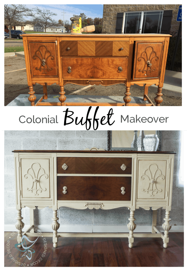 colonial-buffet-makeover