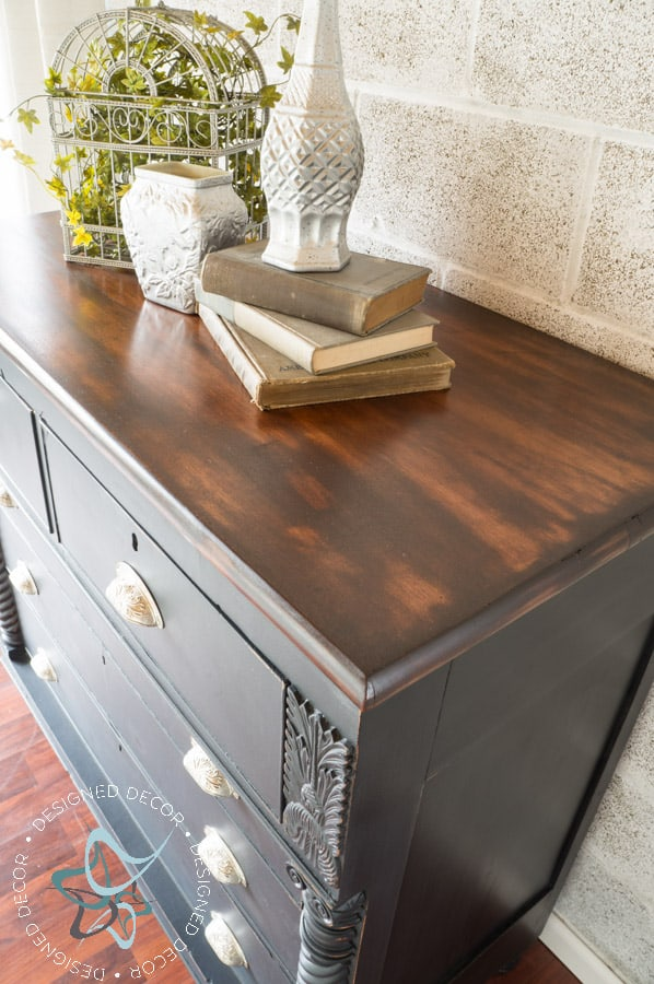 Carved Empire Dresser-Rustic Glam-9