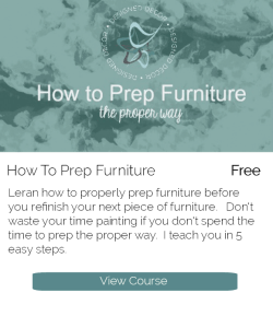 Course graphic- how to prep furniture