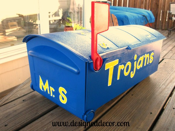 Repurposed mailbox