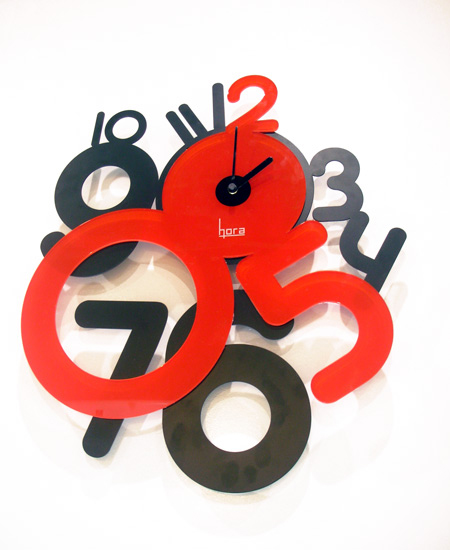wall clock by francesco cappuccio