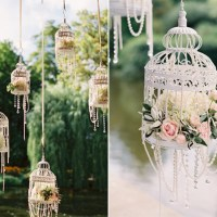 Hanging wedding decor inspirations