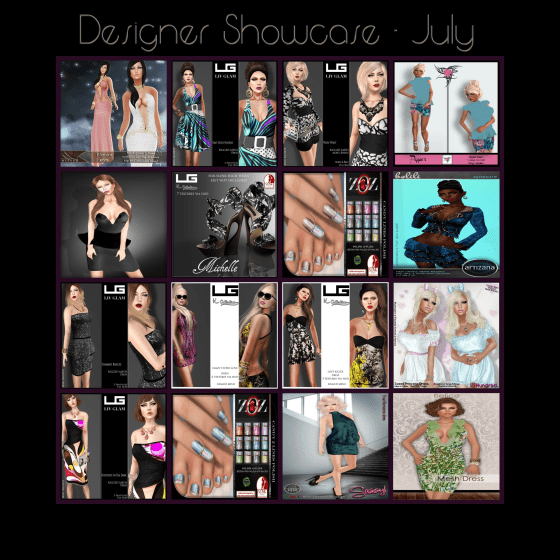 Designer Showcase July