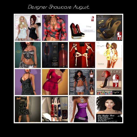 Designer Showcase -August.