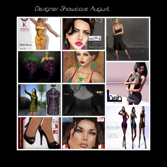 Designer Showcase -August-