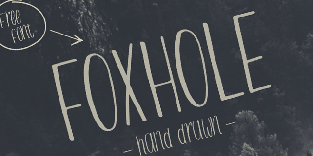 Foxhole Free Font Download