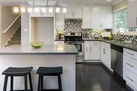 contemporary l shaped kitchen design