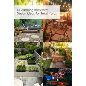 Hairy 40 Backyard Design Ideas Small Yards Backyard Ideas Images