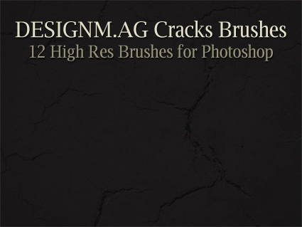 High Res Cracks Brushes for Photoshop