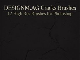 High Res Cracks Brushes
