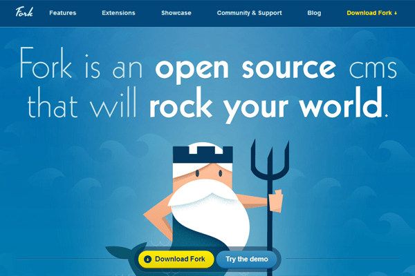forkcms open source php mysql content management