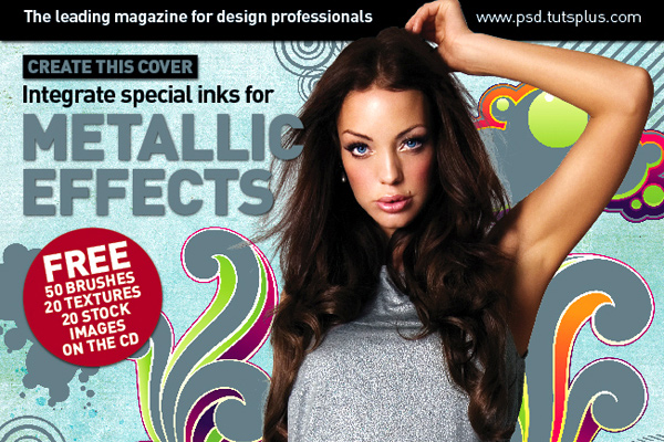 magazine cover tutorial graphics photoshop indesign