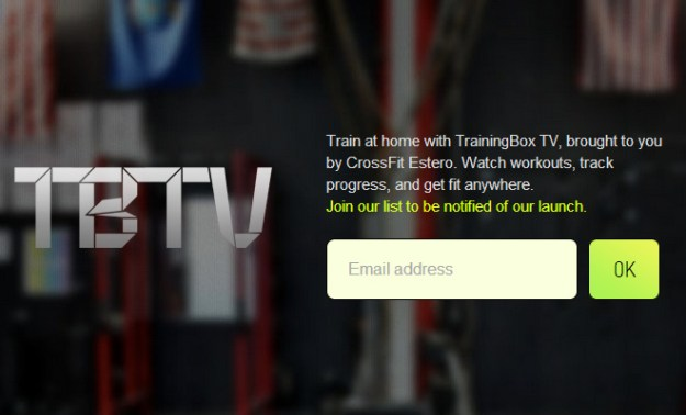 training box tv television startup website