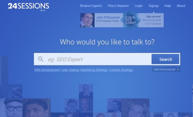 24 sessions beta experts chat faq contact