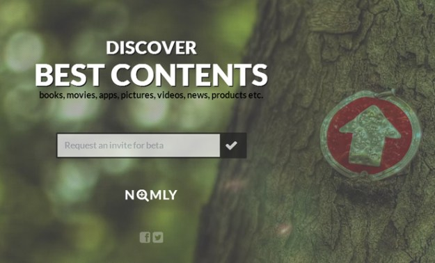 nomly background image fullscreen startup homepage beta