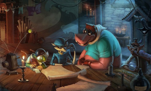 2d cg animation animal criminal hideout