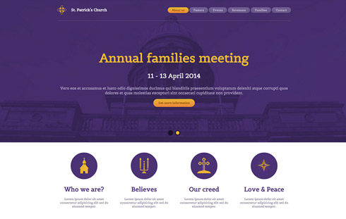 Free Responsive Website Template