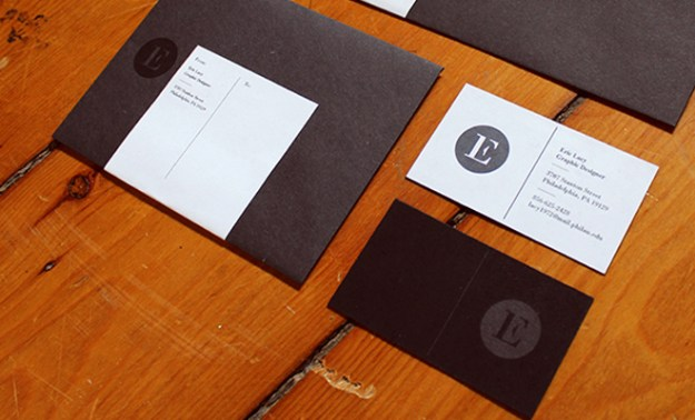 eric lacy identity print design cards