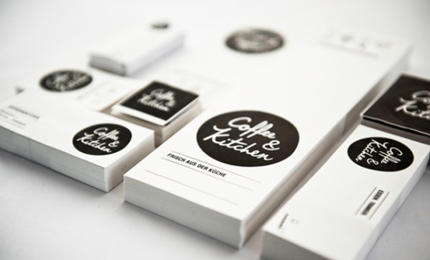 coffe and kitchen branding print design