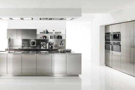 cuisine moderne plan en l