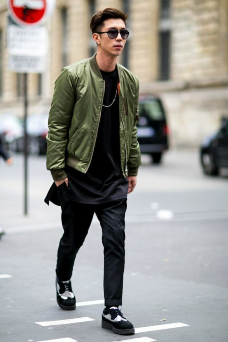 mode tendance bomber jacket chaussures tendance creepers